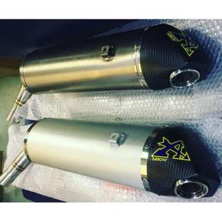 PROMOTION!! For Yamaha XT1200Z Tenere Gen 2 Arrow Exhausts