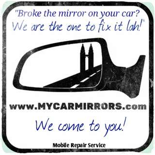 Car side mirror [Flat/Convex] All makes and models!