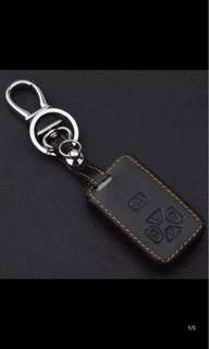 Car remote cover 100% leather