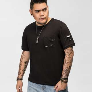 Distressed Style Tshirt