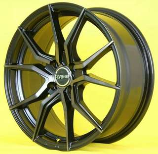Velg Vendetta JD5270 Ring 17x7 Pcd 4x100 ET 40 Black Gery Face