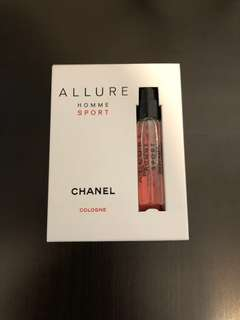Chanel sport 香水