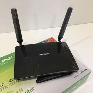 TP-Link 4G Wireless router TL-MR6400