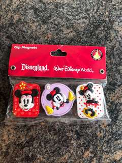 minnie mouse paper clips x magnet