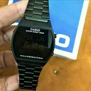 Casio Vintage Watch (Black)