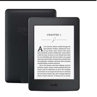 Kindle Paperwhite3 WIFI Black eBook Reader Wireless E-Ink Reader Built-in Backlight Highest Resolution 300PPi Electronic Paper