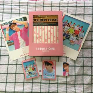 WANNA ONE TO BE ONE ALBUM PINK VER.
