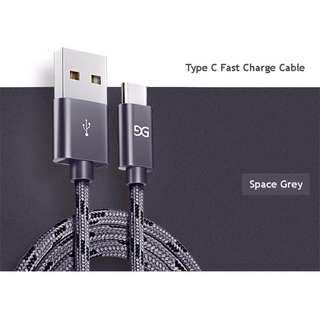 All Types Cable★50% Faster★ Fast Charge Nylon Cable