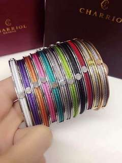 New arrival Colored Charriol bangles
