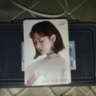 gugudan  MIMI 白卡 $3
