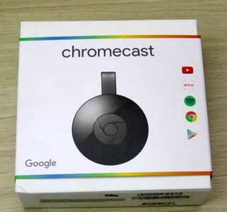 Google Chromecast v2 Streaming Media Player (BLACK)