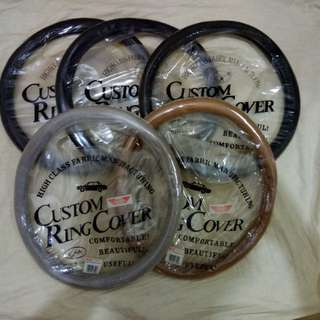 Car steering covers. Brand new, never used. All 5 pieces for just $20 total