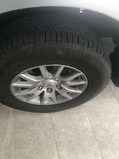 4x4 Silverstone tyres for sale 4 unit