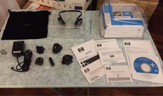 HP IPAQ Bluetooth Headphone with accessories
