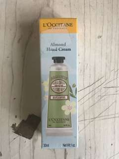 L'Occitane Almond Hand Cream 30ml/1oz