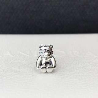 BNIB Authentic Pandora Pudsey Bear Charm 2016