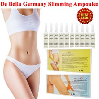 De Bella Body Slimming Ampoules Brand New