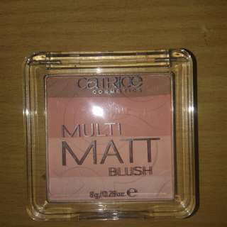Catrice multi matt blush