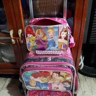 Disney princess stroller bag