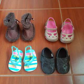 Assorted Shoes for Baby Girl