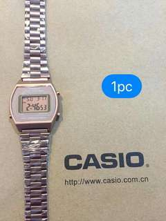 Casio Vintage Watch (Rose Gold)