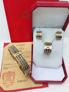 Cartier 3in1 set