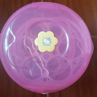 Original Hello Kitty Microwave Sterilizer