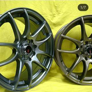 Velg CR Kai JD8063 Ring 16x7 H8x100/114.3 ET 42