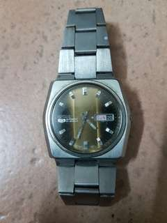 Vintage Seiko 5 Two tone Dial Mens Watch