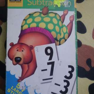 Substration flashcards