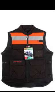 Riding vest with back protection!!