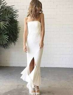 HIRING: Kitx crushed linen dress