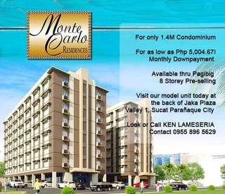 Pre-selling Condominium 1.4M