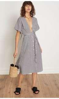 Faithfull the Label midi stripe dress