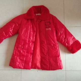 My girl preloved Hello kitty Winter Jacket
