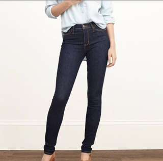 Abercrombie & Fitch High Rise  Jeans
