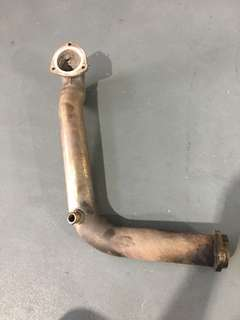 Mini Cooper R56 aftermarket downpipe