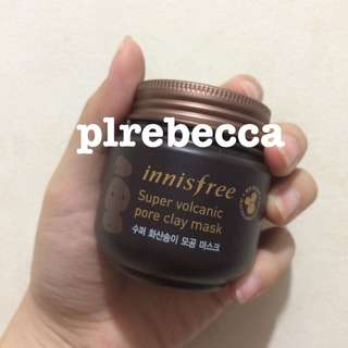 [NEW] INNISFREE SUPER VOLCANIC PORE CLAY MASK JEJU MASKER PORI ALAMI KOREA INISFREE SHARE IN JAR ORI
