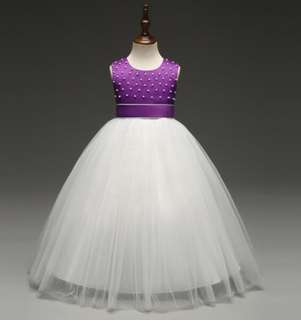 Flower Girl Dress princess dress (Instock)