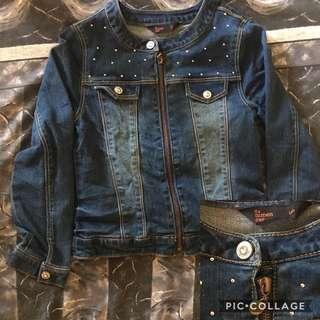 Denim jackets/longsleeves for teens