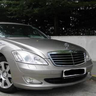 MERCEDES BENZ S350L 2008 7G TRONIC GEAR SUNROOF