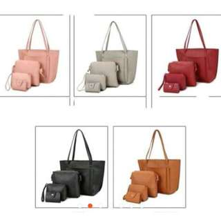 4in1#3 Set Korean Fashion Bag