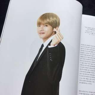 ✨絕版⚜️官方稀有⚜️防彈少年團 BTS Lotte Duty Free 樂天 雜誌♥️