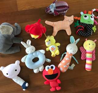 Random toys for babies