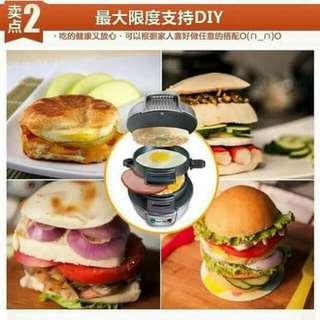 Mini handburger machine