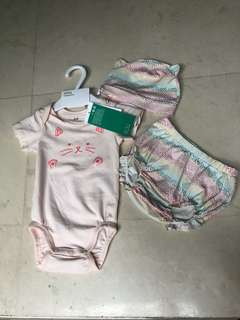 Baby girl set clothes
