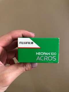 35MM expired Fujifilm NEOPAN 100 ACROS
