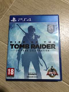 PS4: Rise of the Tomb Rider