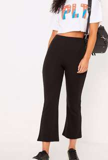 PLT flared cropped pants