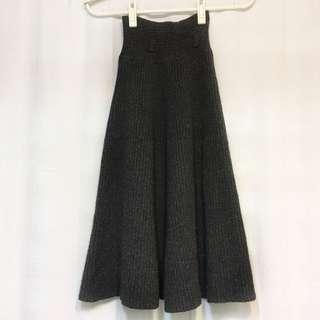 🚚 👗高腰針織傘狀裙